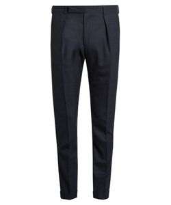 Paul Smith | Slim-Fit Checked Wool Trousers