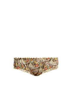 LOUP CHARMANT | Bloomer Print Cotton Briefs