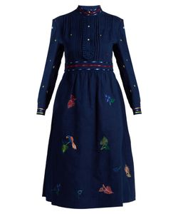 Thierry Colson | Rebecca Embroidered Cotton Dress