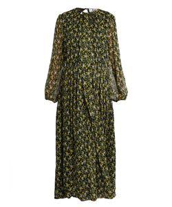 MSGM | -Print Silk Maxi Dress