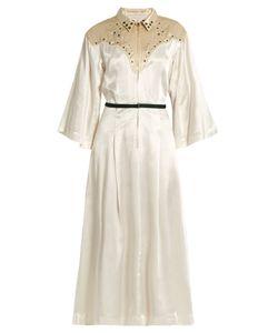 Toga | Embellished Satin Dress