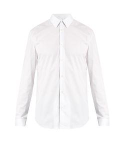Maison Margiela   Single-Cuff Pinstriped Cotton Shirt
