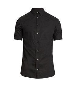 Alexander McQueen | Ribcage Short-Sleeved Cotton Shirt