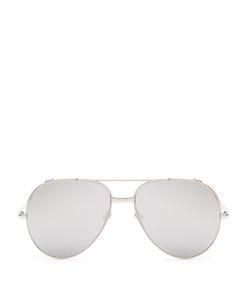 Linda Farrow | Plated Aviator Sunglasses