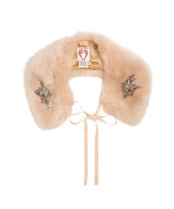 SHRIMPS | Lucy Embellished Faux-Fur Collar
