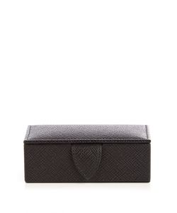 Smythson | Panama Small Leather Cufflink Box