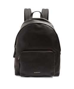 Burberry   Abbeydale Grained-Leather Backpack