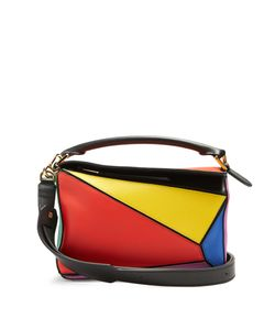 Loewe | Puzzle Small Leather Shoulder Bag