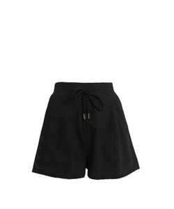 CHARLI COHEN | Optics Perforated Performance Shorts