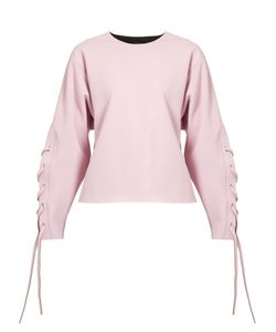 CHARLI COHEN | Omega Lace-Sleeve Performance Sweatshirt