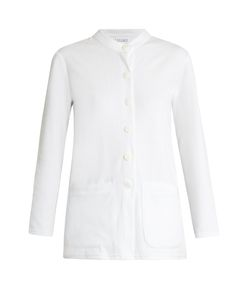 ROXANA SALEHOUN | Velvet Shirt And Shorts Cover-Up Set