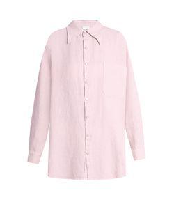 ROXANA SALEHOUN | Oversized Linen Shirt
