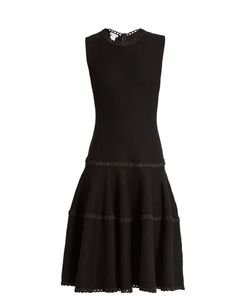 Oscar de la Renta | Sleeveless Wool And Silk-Blend Dress