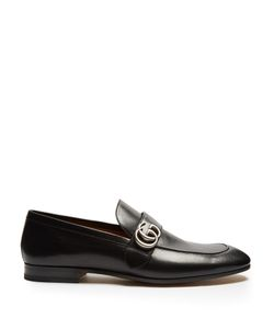 Gucci | Donnie Gg Leather Loafers