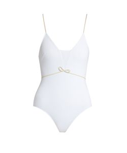 ROXANA SALEHOUN | Waist-Bow Swimsuit