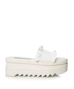 Stella Mccartney | Ruffled Flatform Slides