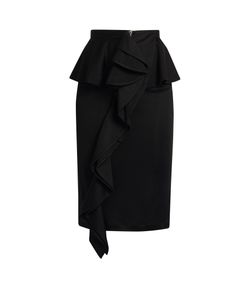 Givenchy | Ruffled Jersey Skirt
