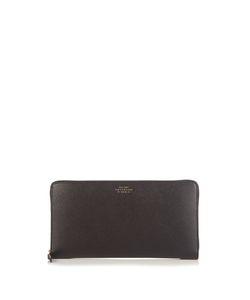 Smythson | Panama Leather Travel Wallet