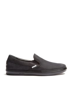 Jimmy Choo | Grove Perforated-Leather Trainers
