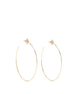 Diane Kordas | Diamond Roseearrings