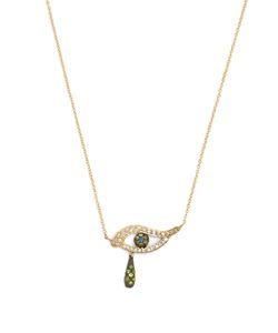 Ileana Makri | Diamond Sapphire Tsavorite Necklace