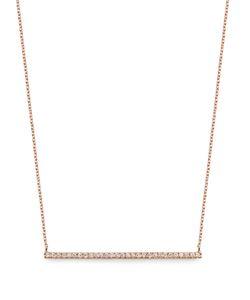 Diane Kordas | Diamond Rosebar Necklace