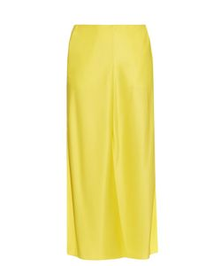 Jonathan Saunders | Bias-Cut Split Satin Skirt