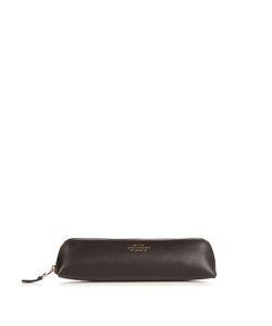 Smythson | Burlington Grained-Leather Pencil Case