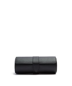 Smythson | Panama Leather Watch Roll