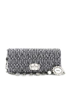 Miu Miu | Embellished Gingham Shoulder Bag