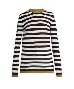 Marni | Striped Linen And Silk-Blend Sweater