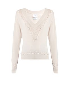 BARRIE | Timeless V-Neck Cashmere Sweater