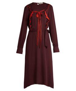 Preen Line | Renata Tie-Front Ruffle Dress