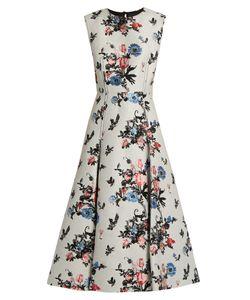 Valentino | Sleeveless Enchanted Jungle-Jacquard Dress