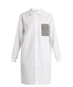 Christopher Kane | Gingham-Pocket Cotton-Poplin Shirtdress