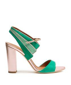 MALONE SOULIERS | Careen Suede Block-Heel Sandals