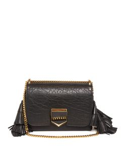 Jimmy Choo | Lockette Grained-Leather Shoulder Bag