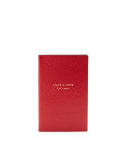 Smythson | Make A Note Of That Panama Notebook