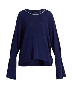 Y'S BY YOHJI YAMAMOTO   Oversized Ribbed-Knit Cotton Sweater