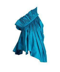 Marques Almeida   One-Shoulder Silk Top