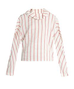 A.W.A.K.E. | To The Sea And Back Striped Blouse