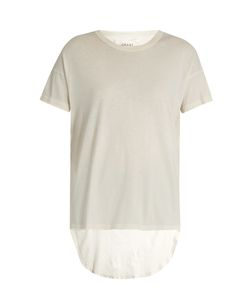 THE GREAT | The Shirttail Round-Neck Cotton T-Shirt