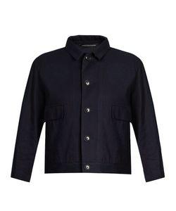 Y'S BY YOHJI YAMAMOTO   Distressed-Dot Cotton Jacket