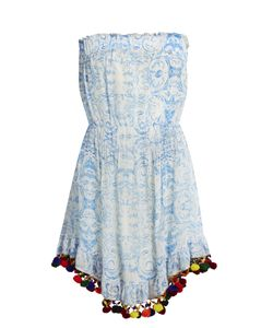 Athena Procopiou | The Midsummers Sky Silk Dress