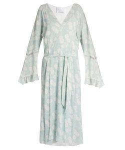 Athena Procopiou | A Bohemian Romance Long Crepe Kimono
