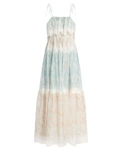 Athena Procopiou | A Bohemian Romance Cotton-Blend Dress