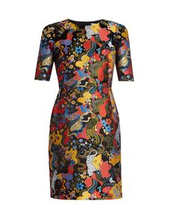 Mary Katrantzou | Mayfield Short-Sleeved Jacquard Dress