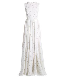 Emilia Wickstead | Herbe Sleeveless Print Cloqué Gown