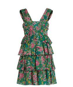 No. 21 | -Print Cotton-Mousseline Dress