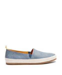 MULO | Nubuck-Leather Espadrilles
